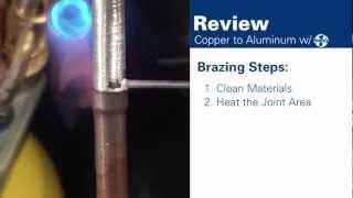 How to Braze Aluminum to Copper