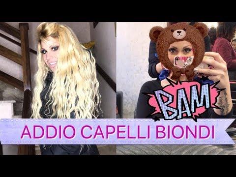 ADDIO BIONDO! Nuovo look