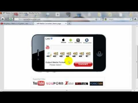MP3 Converter Script - A WordPress Plugin - wpMediaConverter.com