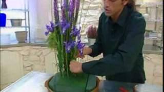 Decogarden: Centro de flores vertical