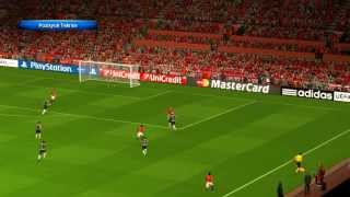 Manchester United FC vs Juventus FC - UEFA Champions League - PES 2014 PC