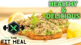 Alton Brown's Delicious Avocado Sardine Toast (Healthy)