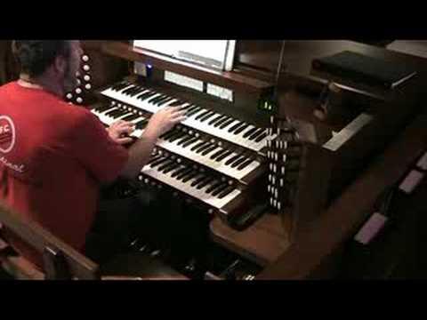 Holy, Holy, Holy - Allen Organ Q325