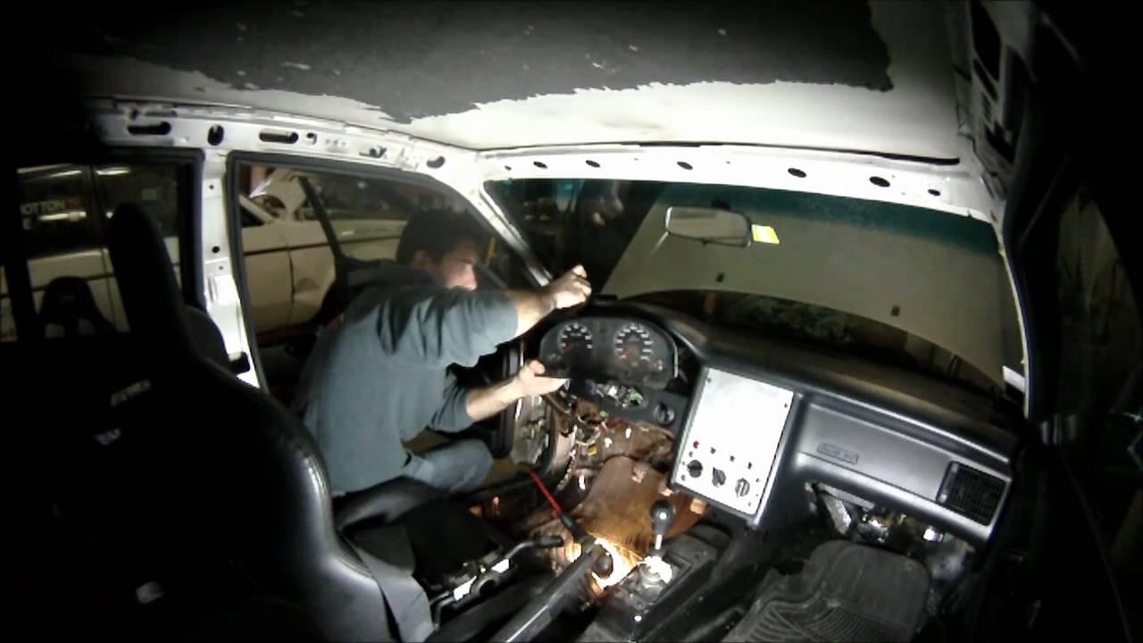 Audi 80 Rally Prep Dash Removal Youtube