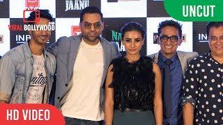 UNCUT - Nanu Ki Jaanu Trailer Launch | Abhay Deol, Patralekhaa, Faraz Haider And Sajid Qureshi