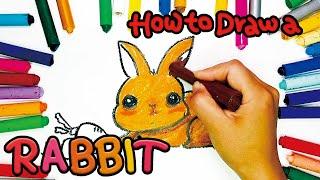 유아 영어 교육, 토끼그리기, 미술놀이. How to …