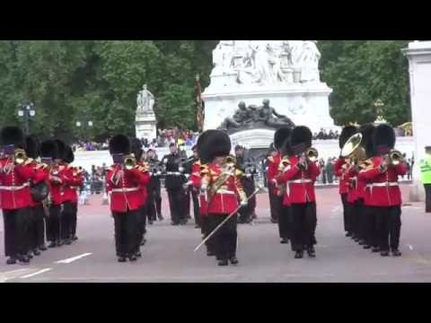 Band Grenadier Guards, Coldstream Gds, Changing the Guard, July 2, 2016 - extended version