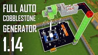 Cara Membuat Full Auto Cobblestone Generator - Minecraft Indonesia