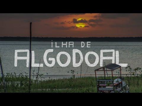 Ilha de Algodoal no Pará