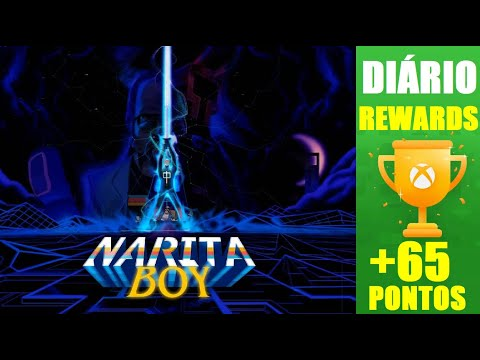 DIÁRIO DO REWARDS #1  +65 PONTOS - NARITA BOY GAME INSPIRADO NA DÉCADA DE 80 DOS GAMES |