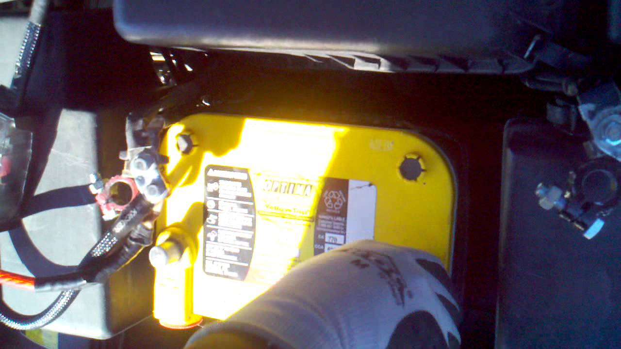 Installling A Optima Battery In Toyota Camry