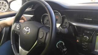 видео Штатная магнитола Тойота Королла 2014: функционал, дополнительные устройства