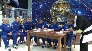 Экипаж  Союз МС 02   Традиции Байконура