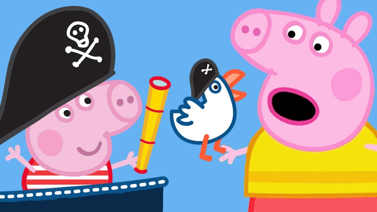Peppa Pig English Episodes Sing Along With Peppa Pig Boat Bobs