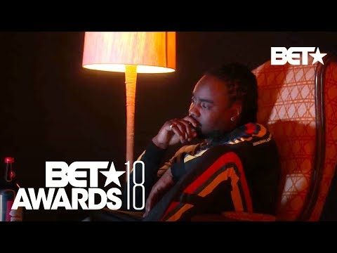 J. Cole Mixes Old & New With His Performance of 'Intro' & 'Friends' | BET Awards 2018
