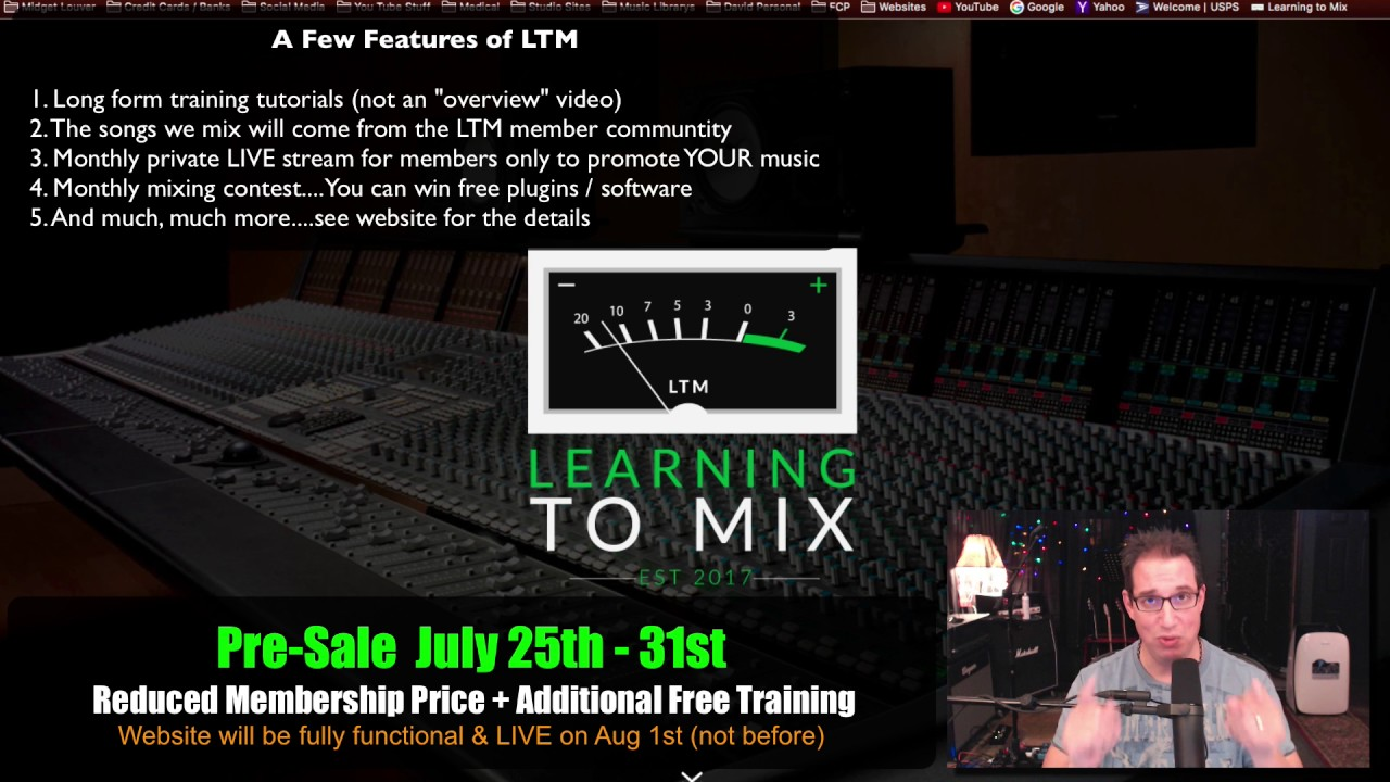Home Studio - Mixing - Learning To Mix com - New Training Website