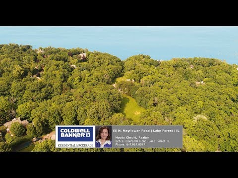 55 N Mayflower Road Lake Forest IL 60045 -- House For Sale