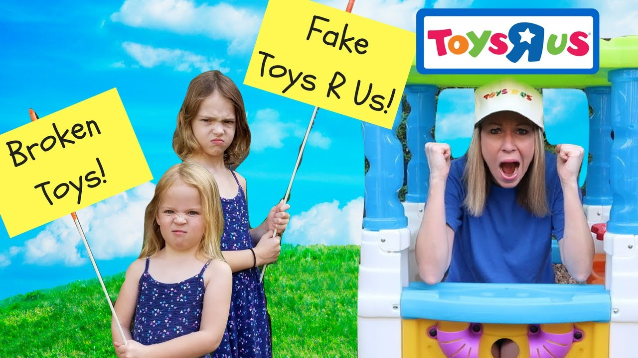Pretend Toy Store Kids Video Starring Addy And Maya