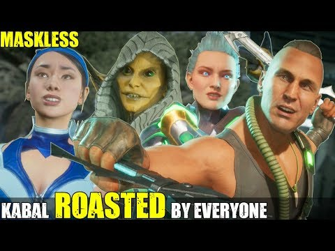 Who Roasts & Insults An Unmaksed Kabal the Best? (Relationship Banter Intro Dialogues) MK 11