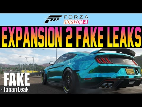 Forza Horizon 4 - 2nd Expansion JAPAN Leak - FAKE! Explained