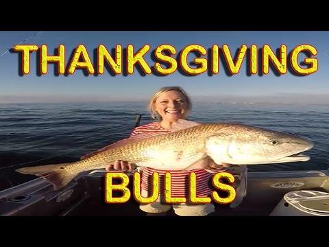 REDFISH NOVEMBER / JACKSONVILLE FLORIDA FISHING