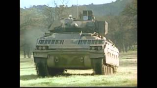 first footage of the m2 bradley fighting vehicle destroying a tank