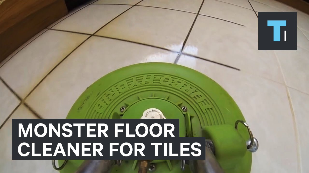 Monster Floor Cleaner For Tiles Youtube