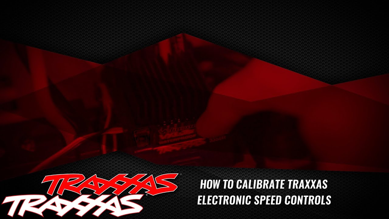 How To Calibrate Traxxas Electronic Speed Controls Youtube Long Ez Wiring Diagram