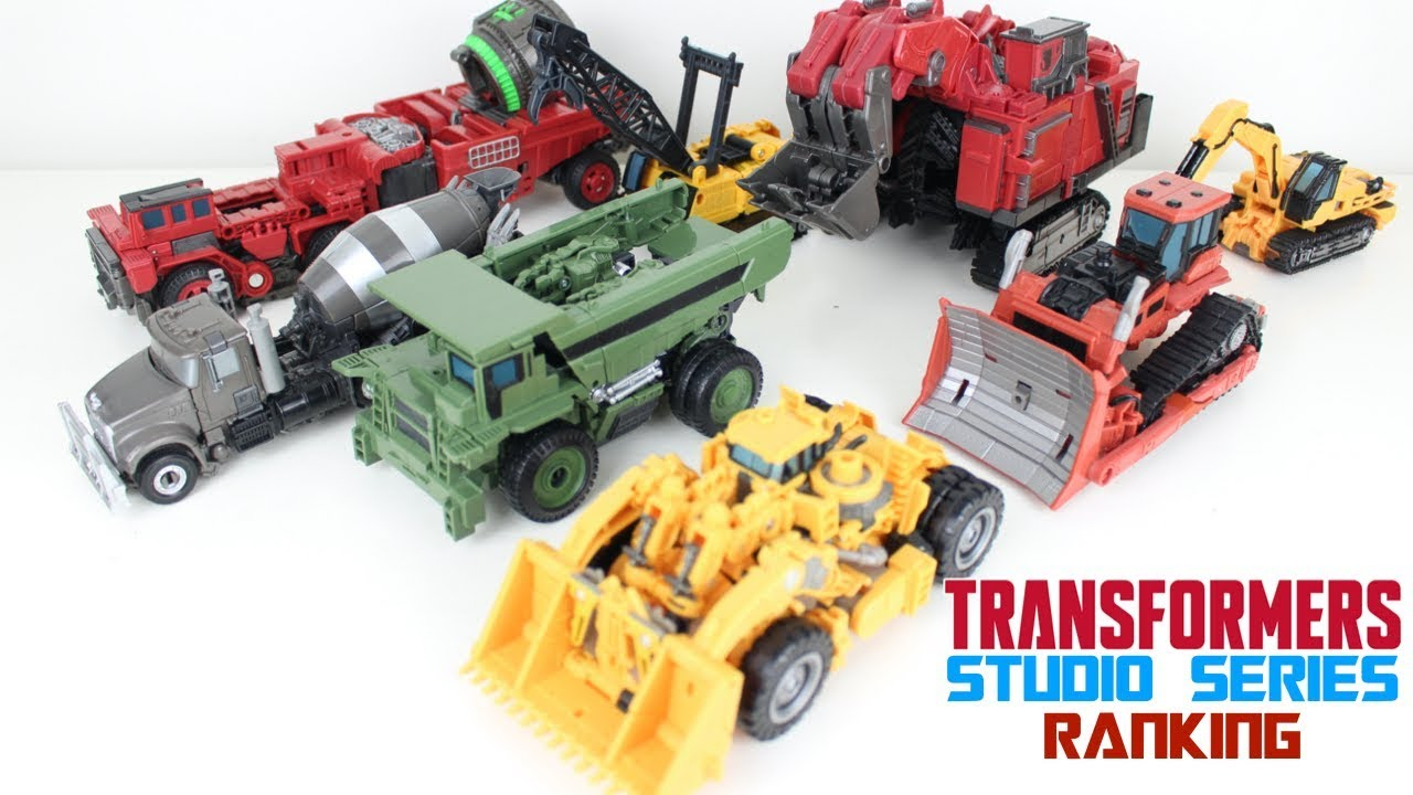 Transformers Studio Series Ranking All 8 Constructicons Figures by PrimeVsPrime