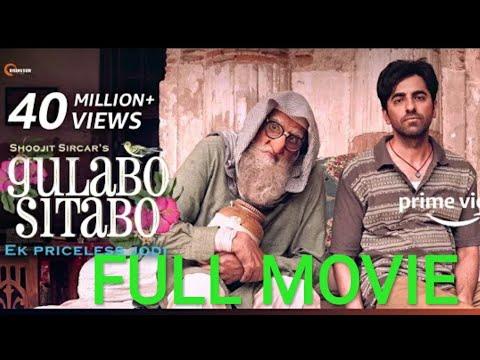 Download Gulabo Sitabo 2020 🔊 Language : Hindi  💿 Quality : 480p + 720p