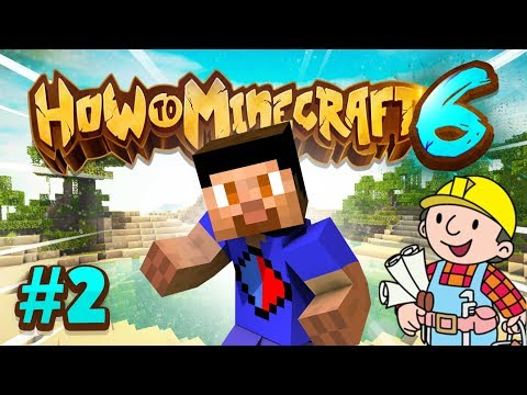 BUILDING A HOME – How To Minecraft S6 #2