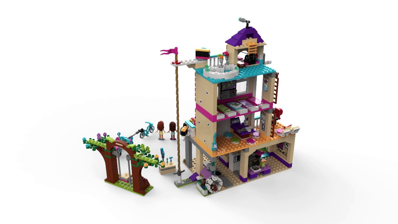 Lego Friends Friendship House 41340 Youtube