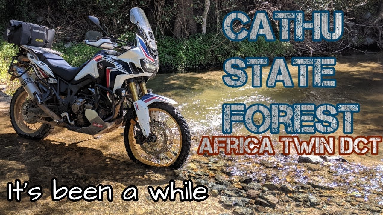 Cathu State Forest on Africa Twin *Re-upload*