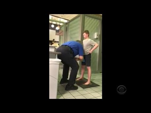 TSA stands behind aggressive pat-down of 13-year-old boy from YouTube · Duration:  1 minutes 59 seconds