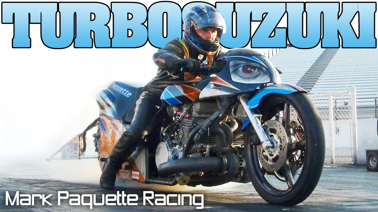 Mark Paquette Turbo Pro Comp Motorcycle Drag Racing Nhdro 2011