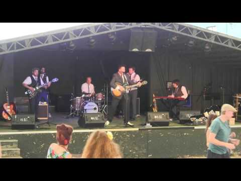 Memphis Lee & The Creepers@Control Tower Stage@Twinwood Festival 2016