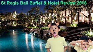 The Best Buffet and Hotel I have seen. St Regis Hotel Nusa Dua Bali