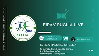 01-12-2019: #fipavpuglia #CMA - Volley Club Grottaglie - Trivianum ASD