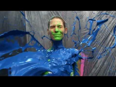 Bodypainting - Tür #21 - AXE Excite Adventskalender 2011