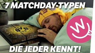 7 Matchday-Typen, die jeder kennt