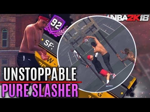 Pure Slasher vs. Pure Sharpshooter - POSTERS and Craziest Dunks Yet! NBA 2K18 Playgrounds Gameplay