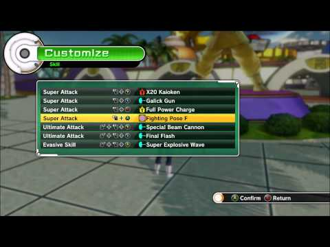 Dragon Ball XenoVerse Full Playthrough Master Captain Ginyu Full Training
