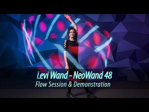 LED Levi Wand 48 | Pixel Levi Stick - Demonstration
