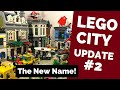 LEGO CIty Update #2 - The New Name