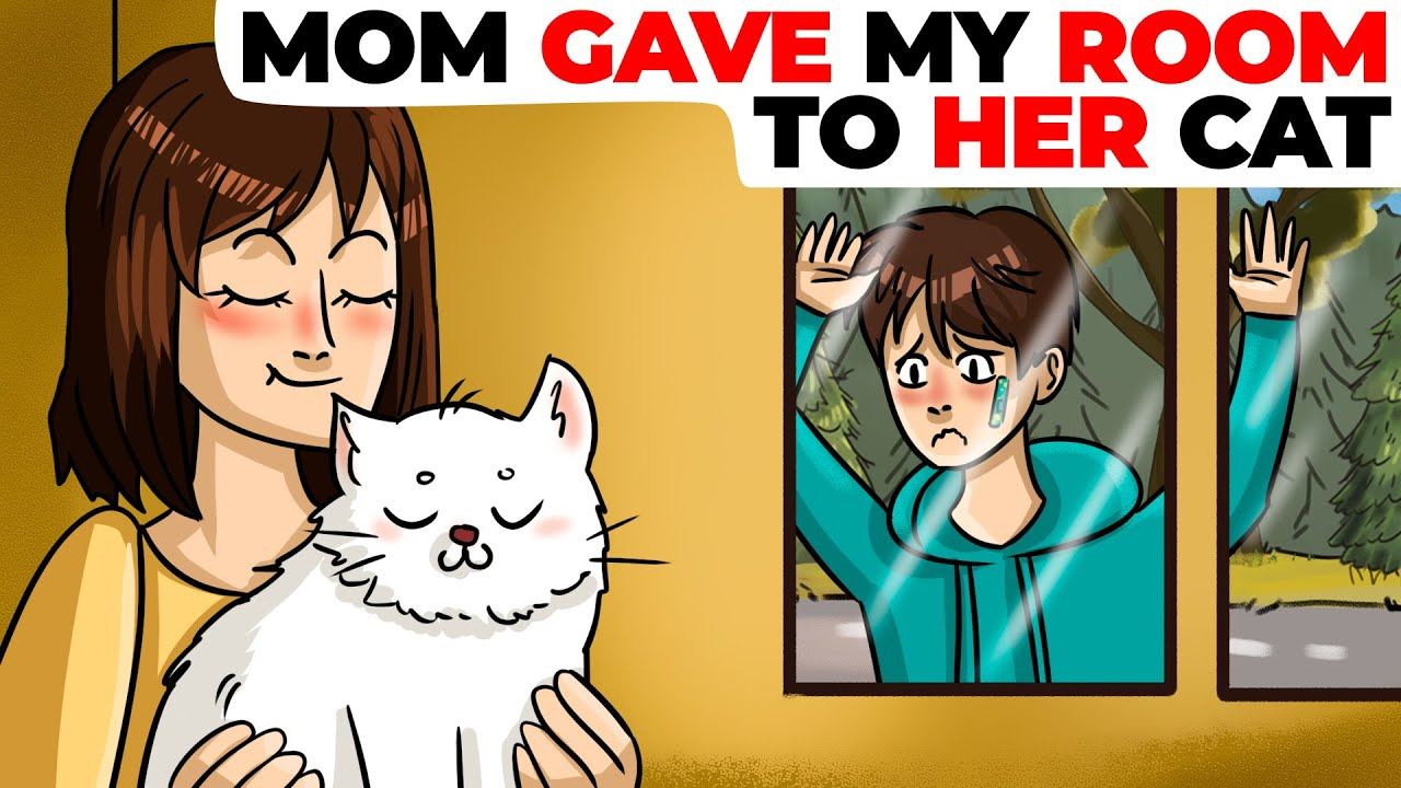 Mom Gave My Room to Her Cat | Animated Story
