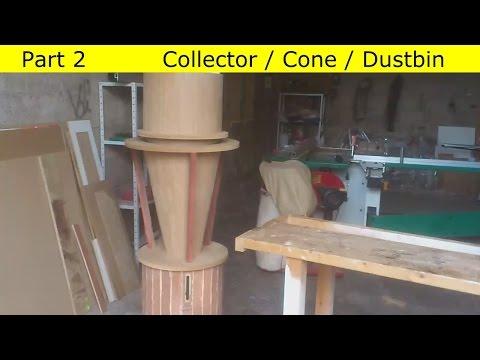 Homemade  cyclone dust separator / DIY Aspirateur cyclonique  / Aspirador ciclonico