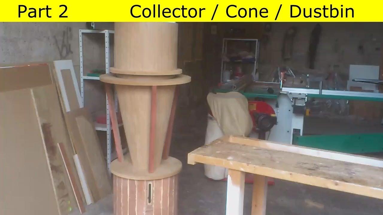 DIY Aspirateur cyclonique en bois