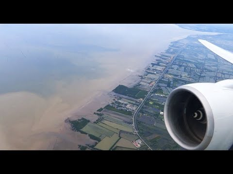 Singapore Airlines Boeing 777-200ER - Cruising the Gulf of Thailand
