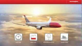 Norwegian 787 Dreamliner Inflight Welcome Video