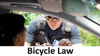CAR vs BICYCLE: 10 Laws You Didn't Know About Bicycles